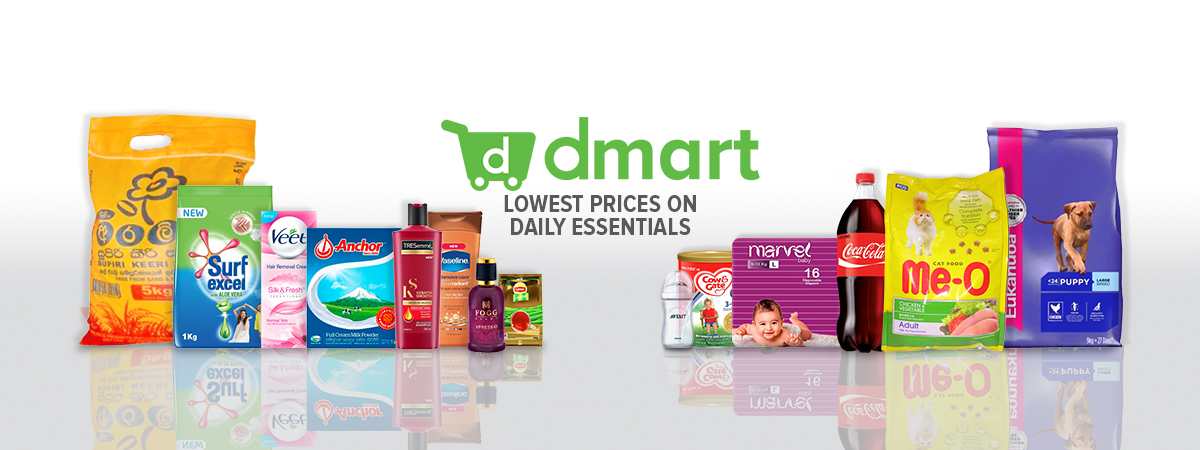 dmart, online grocery shopping Sri Lanka