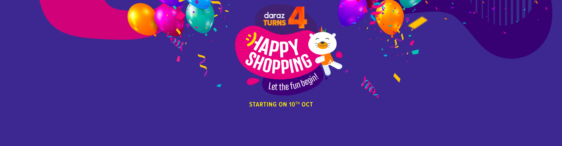 Daraz turns 4 - join the party