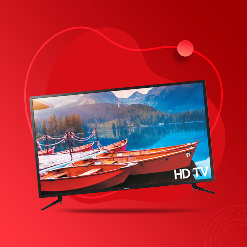 Televisions falls under the essential electronics category as it is available in every household.