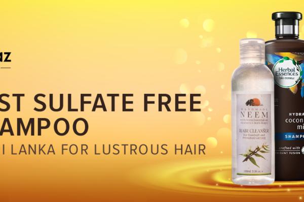Best Sulfate Free Shampoo In Sri Lanka