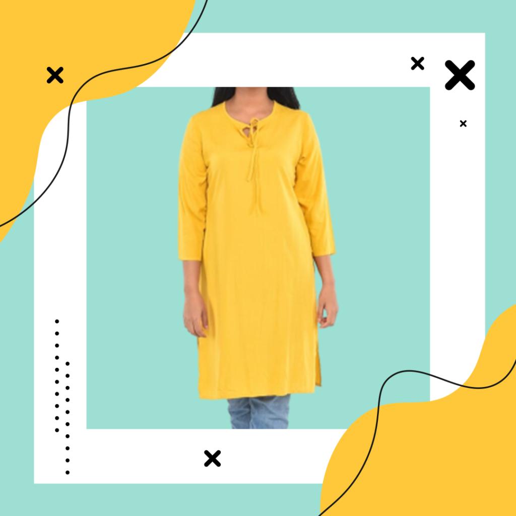 Kurta tops at online clothing stores in Sri Lanka